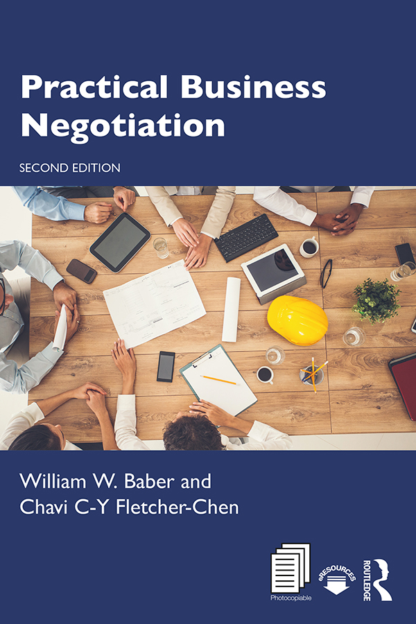 Practical Business Negotiation book cover