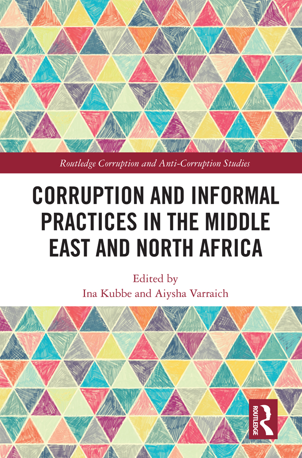 Corruption and Informal Practices in the Middle East and North Africa book cover