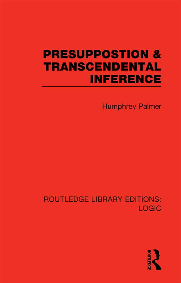 Presuppostion & Transcendental Inference book cover