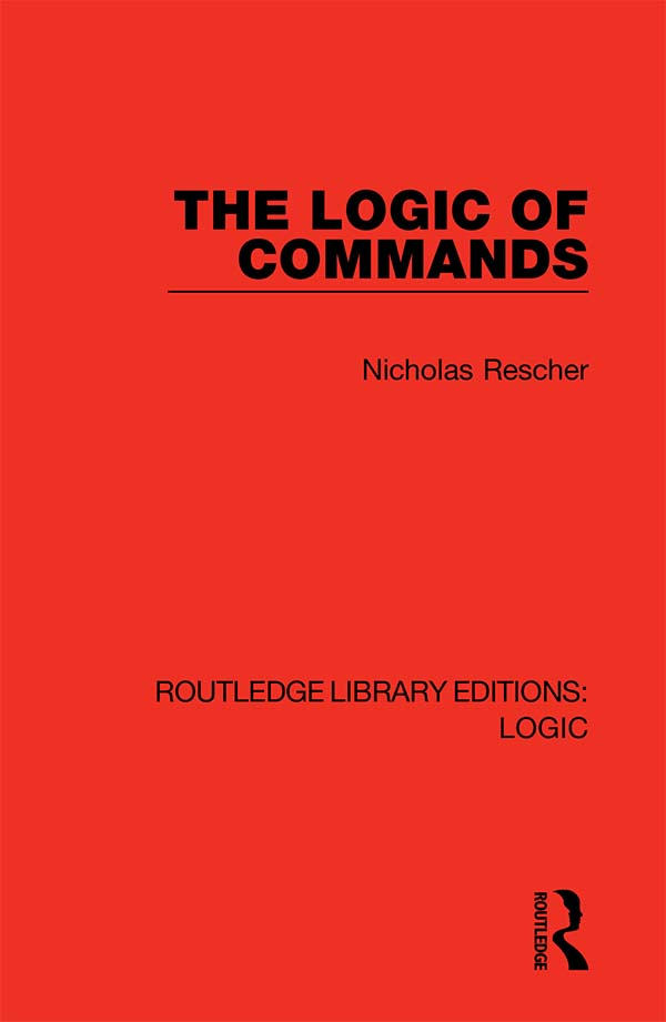 The Logic of Commands book cover