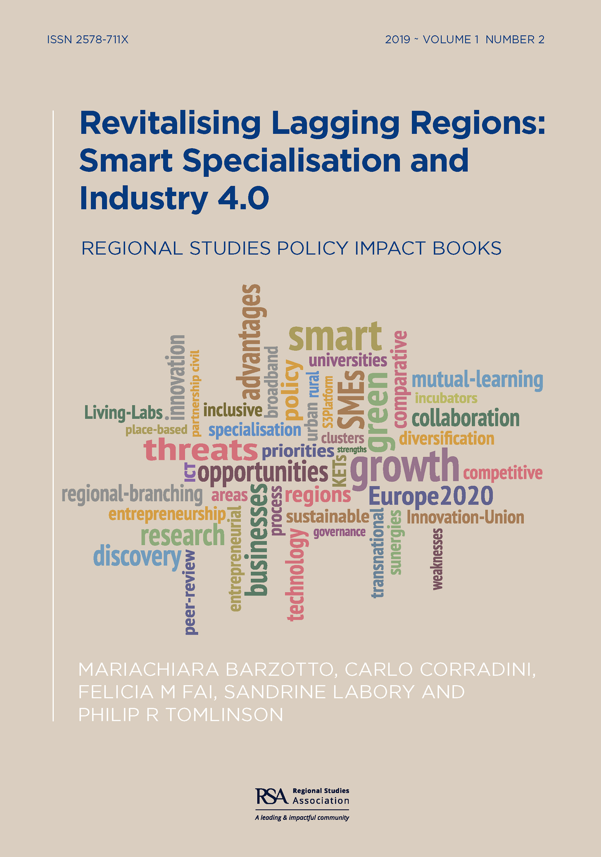 Revitalising Lagging Regions: Smart Specialisation and Industry 4.0 book cover