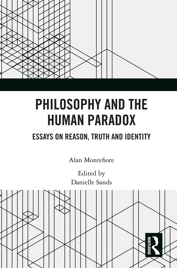 Philosophy and the Human Paradox: Essays on Reason, Truth and Identity book cover