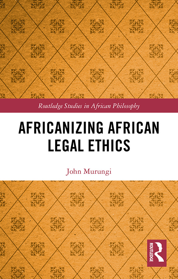 Africanizing African Legal Ethics book cover