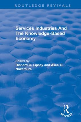 Services Industries And The Knowledge-Based Economy book cover