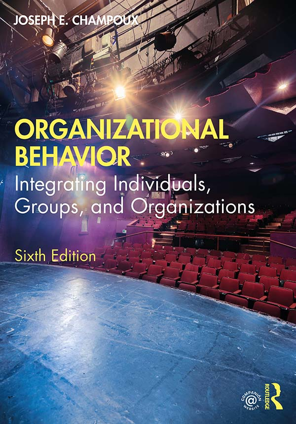 Organizational Behavior: Integrating Individuals, Groups, and Organizations, 6th Edition (Paperback) book cover