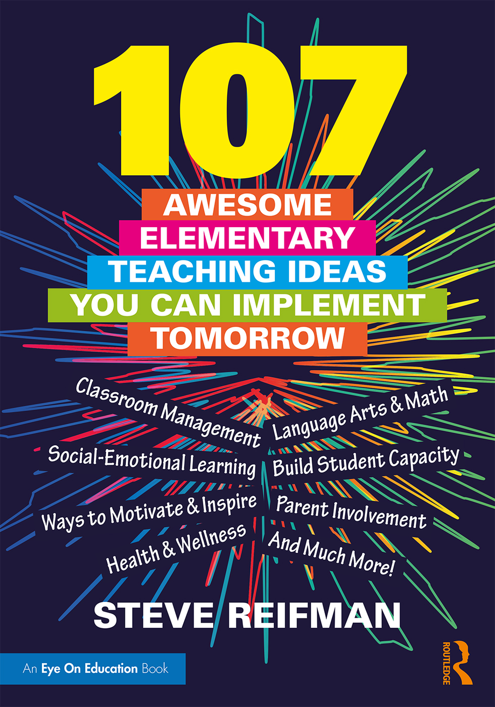 107 Awesome Elementary Teaching Ideas You Can Implement Tomorrow book cover