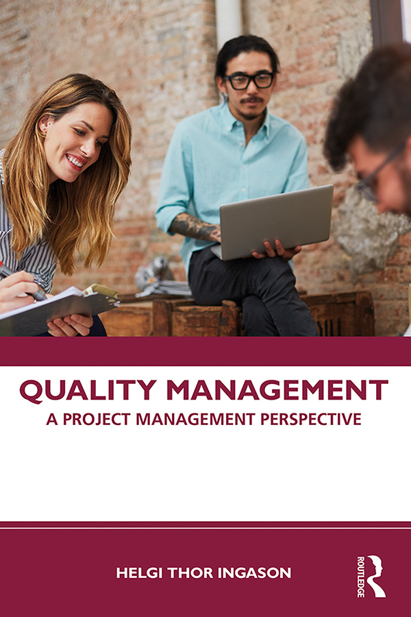 Quality Management: A Project Management Perspective book cover