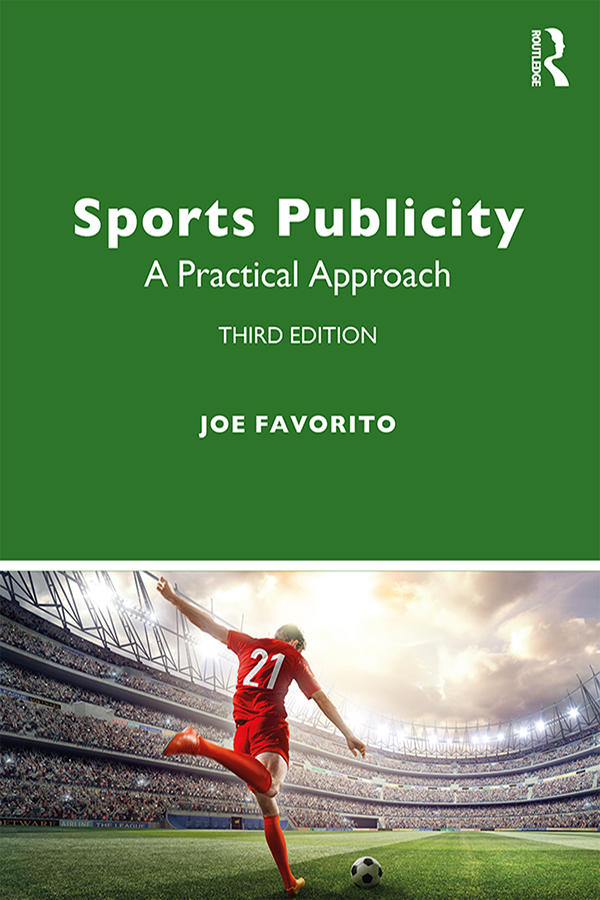 Sports Publicity: A Practical Approach book cover