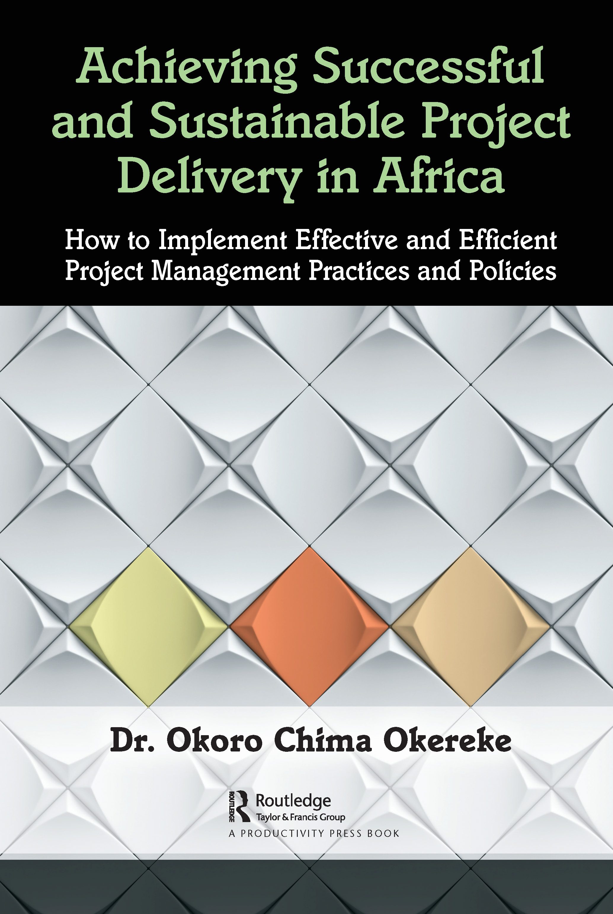 Achieving Successful and Sustainable Project Delivery in Africa: How to Implement Effective and Efficient Project Management Practices and Policies, 1st Edition (Hardback) book cover