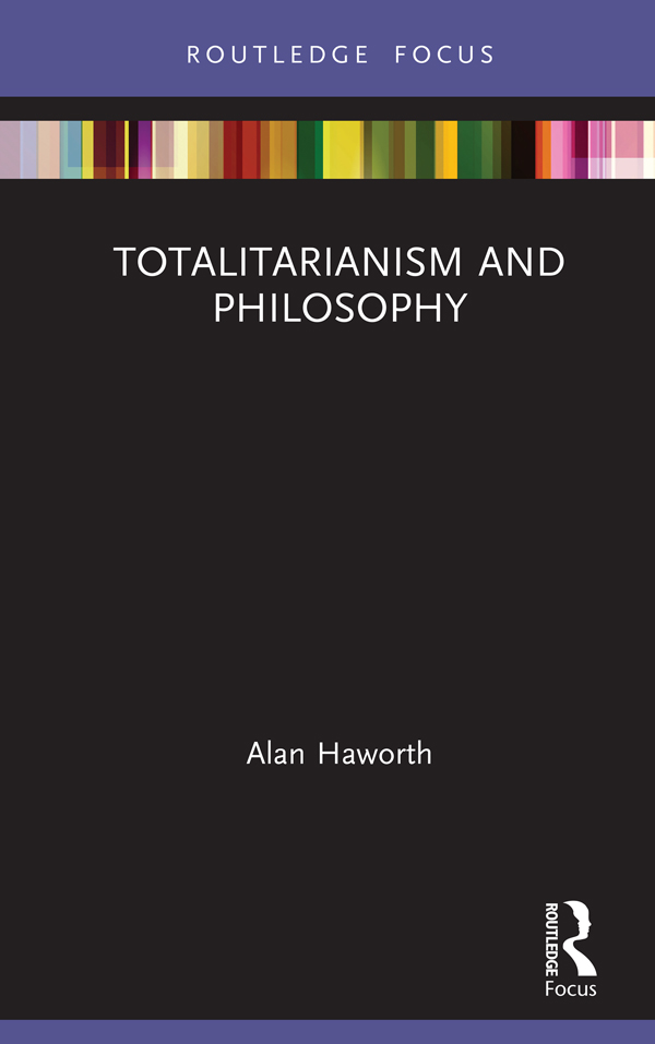 Totalitarianism and Philosophy book cover