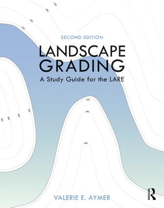 Landscape Grading: A Study Guide for the LARE book cover