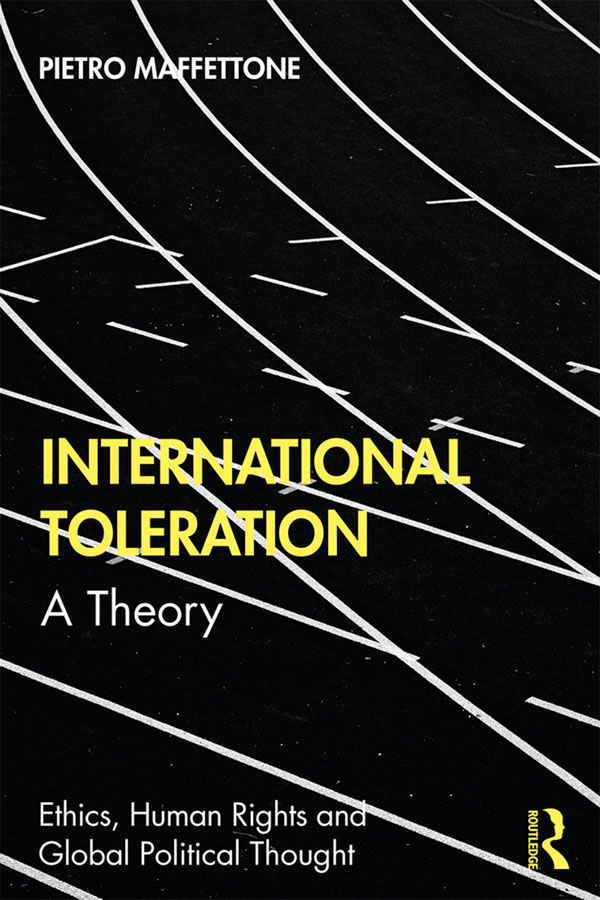International Toleration: A Theory book cover