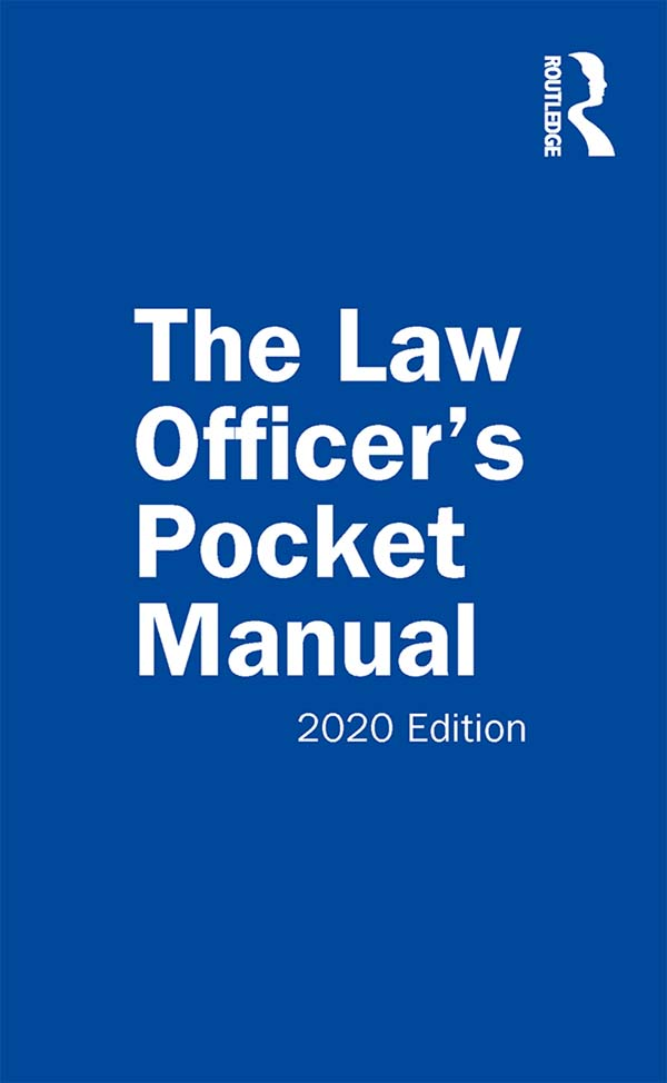 The Law Officer's Pocket Manual: 2020 Edition book cover