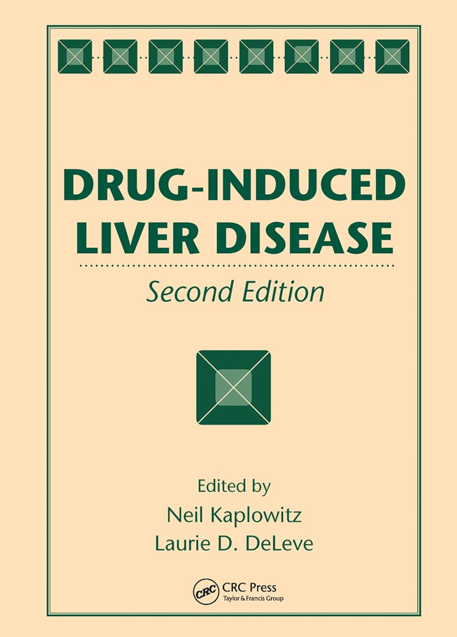 Drug-Induced Liver Disease book cover