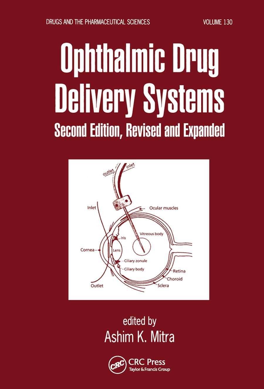 Ophthalmic Drug Delivery Systems: 2nd Edition (Paperback) book cover