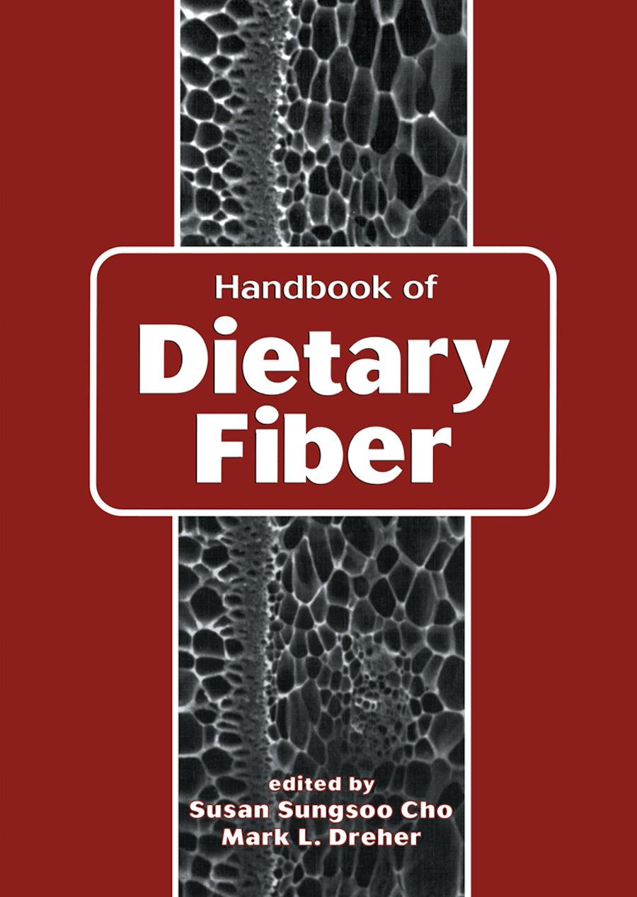 Handbook of Dietary Fiber