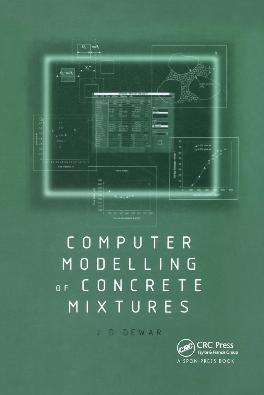 Computer Modelling of Concrete Mixtures: 1st Edition (Paperback) book cover