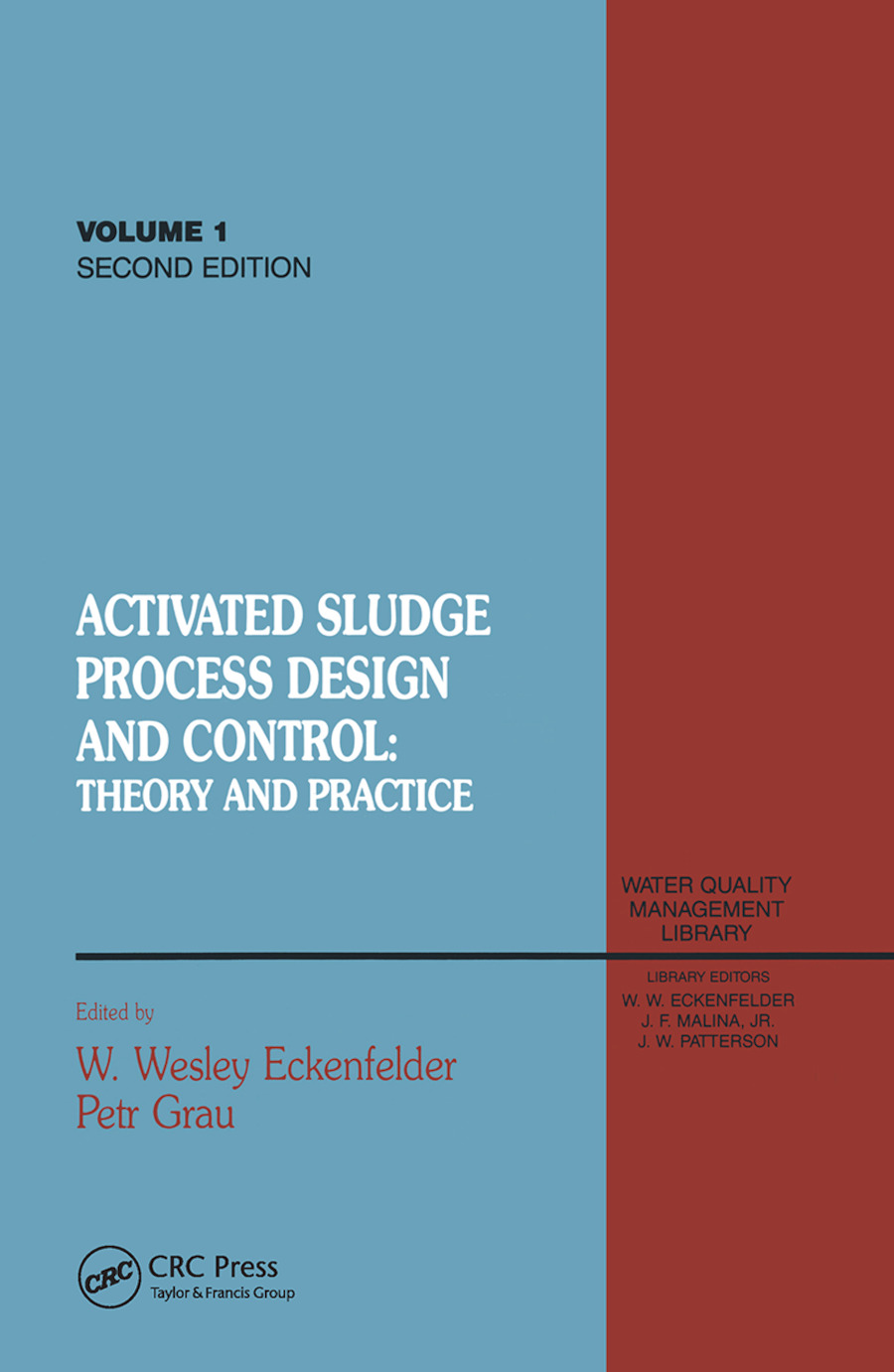 Activated Sludge: Process Design and Control, Second Edition book cover