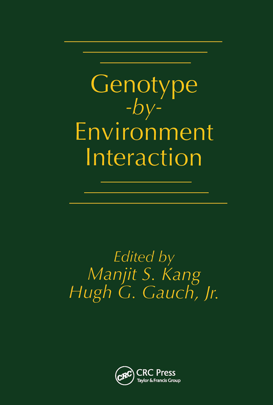 Genotype-by-Environment Interaction