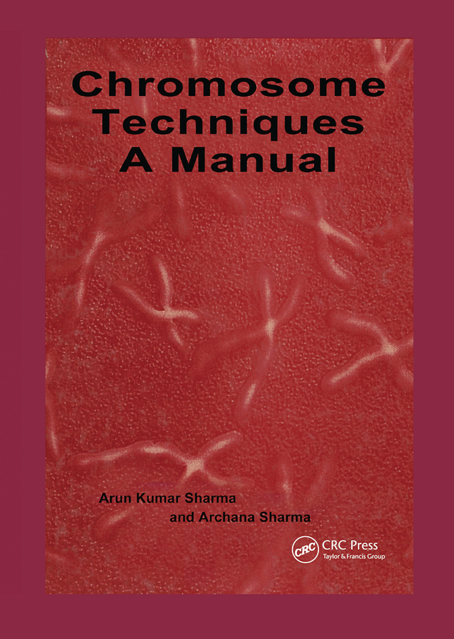 Chromosome Techniques: 1st Edition (Paperback) book cover
