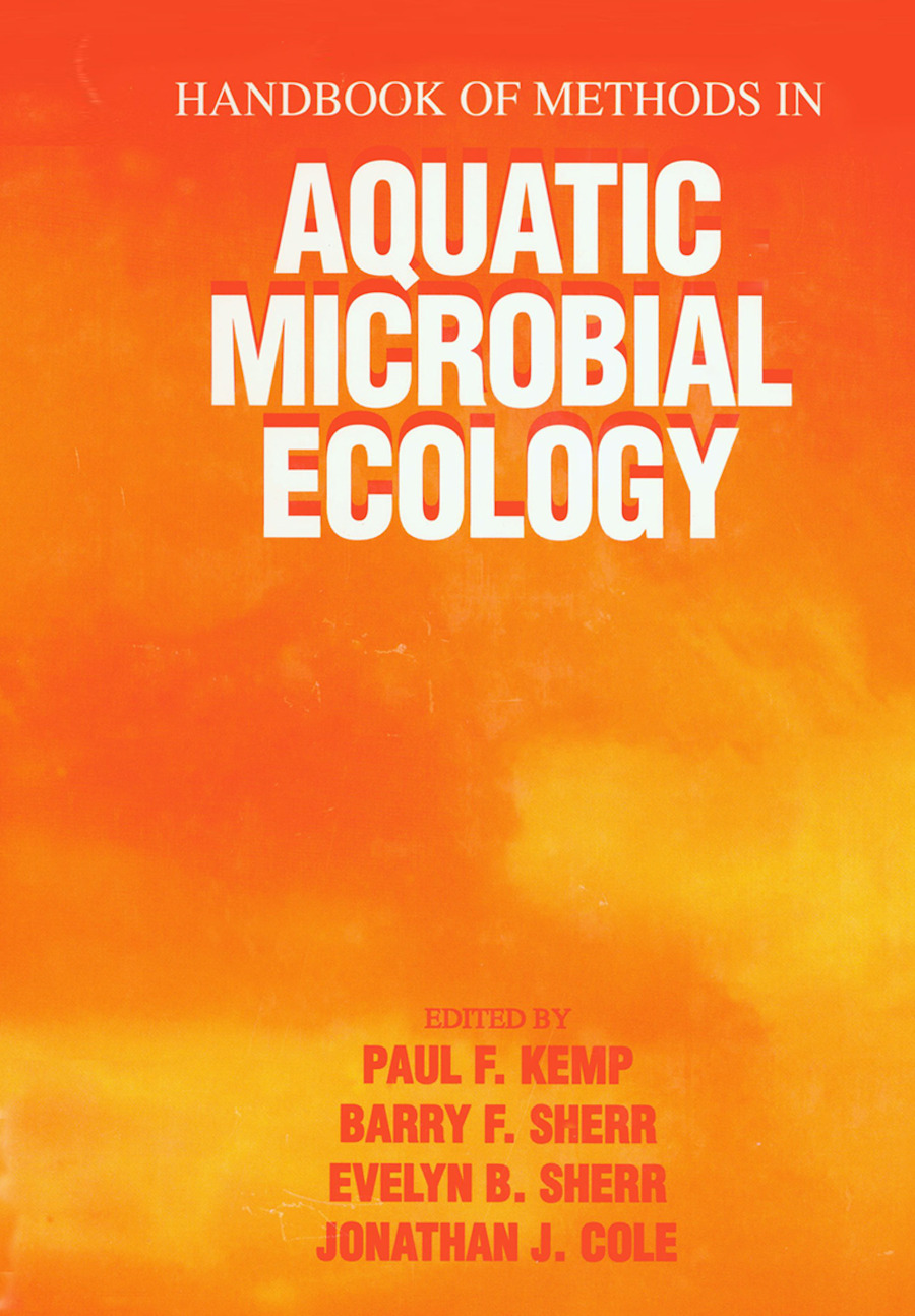 Handbook of Methods in Aquatic Microbial Ecology: 1st Edition (Paperback) book cover