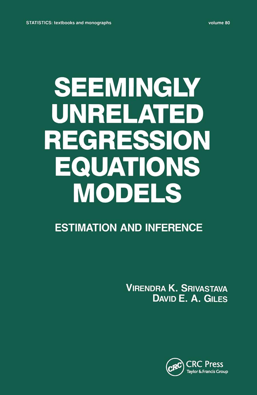 Seemingly Unrelated Regression Equations Models