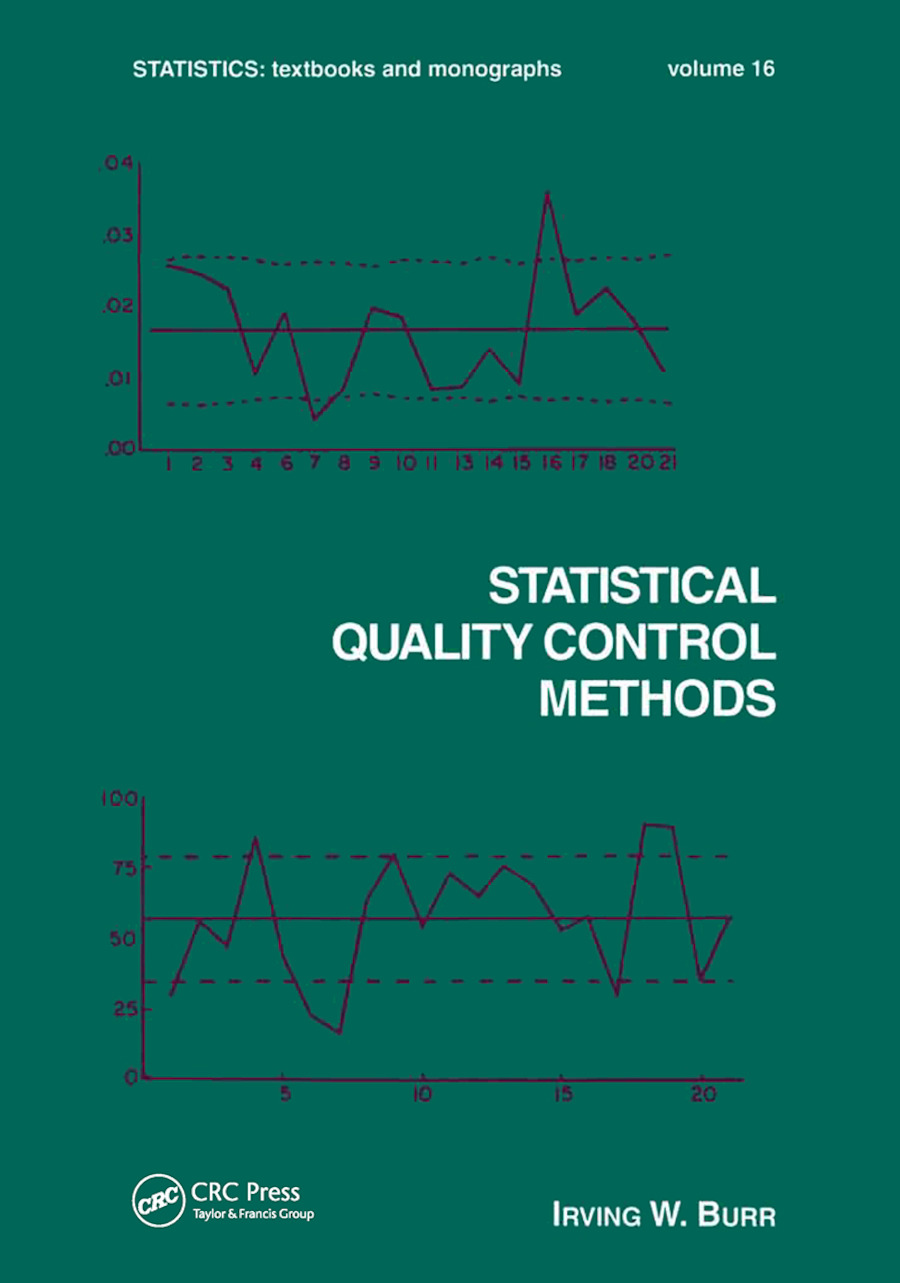 Statistical Quality Control Methods