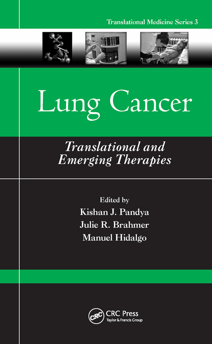 Lung Cancer: Translational and Emerging Therapies, 1st Edition (Paperback) book cover