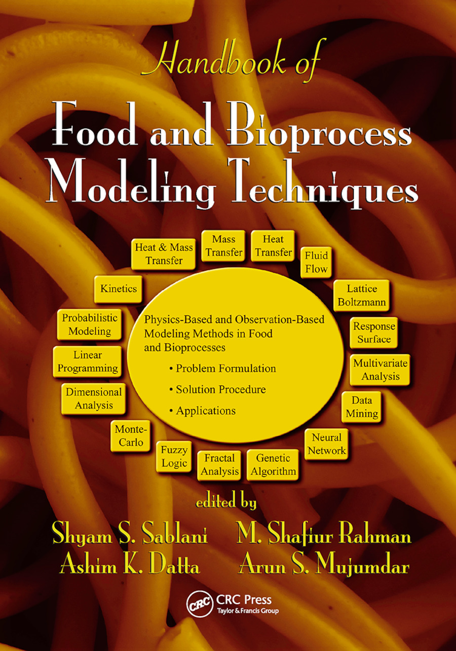 Handbook of Food and Bioprocess Modeling Techniques book cover