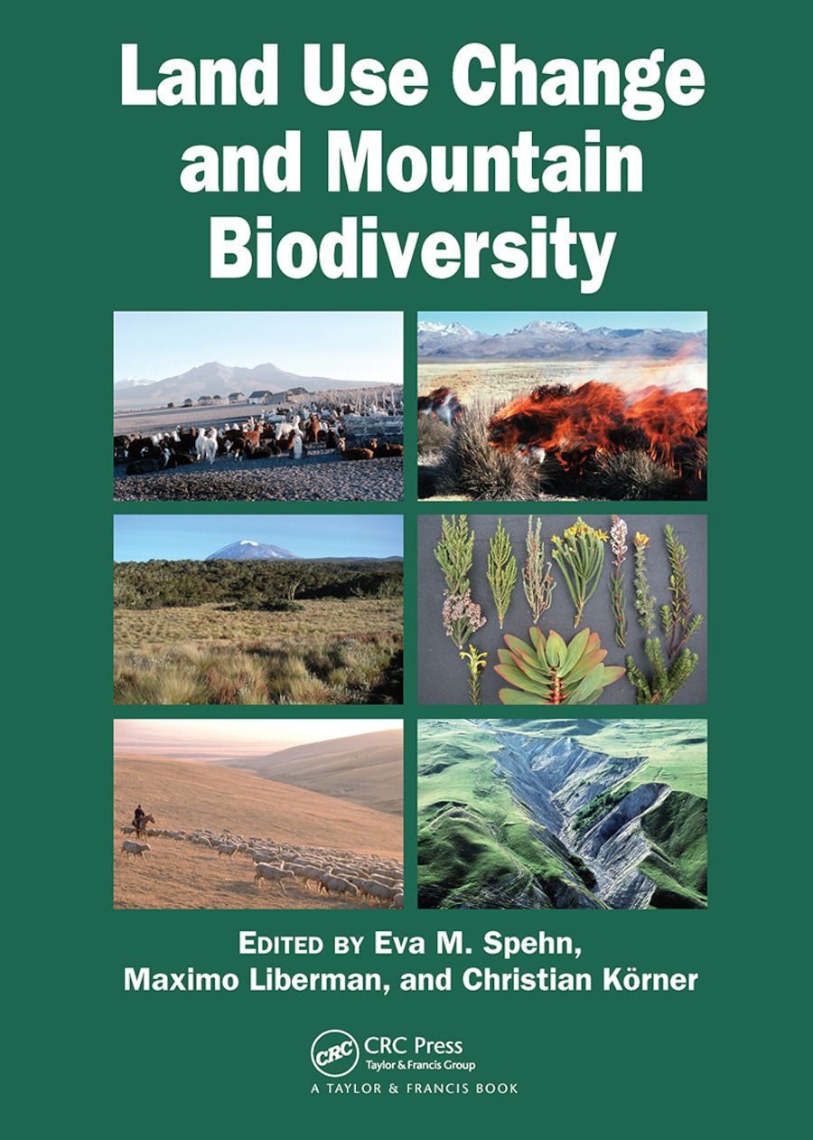 Land Use Change and Mountain Biodiversity: 1st Edition (Paperback) book cover