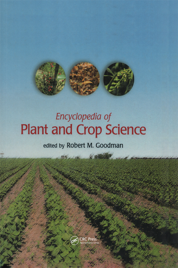 Encyclopedia of Plant and Crop Science (Print)