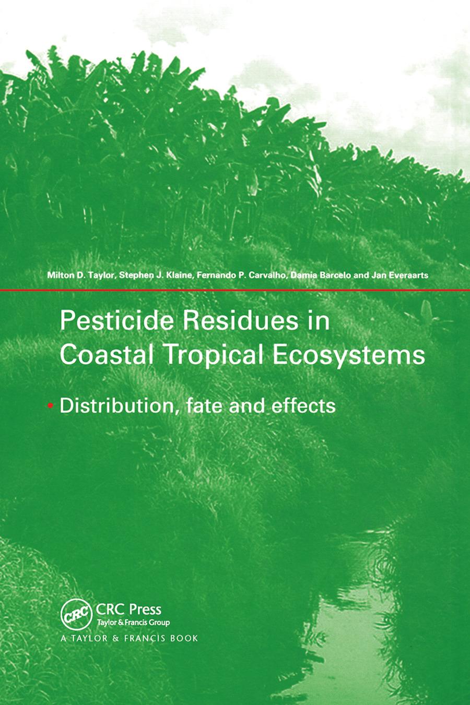Pesticides in the coastal zone of Mexico