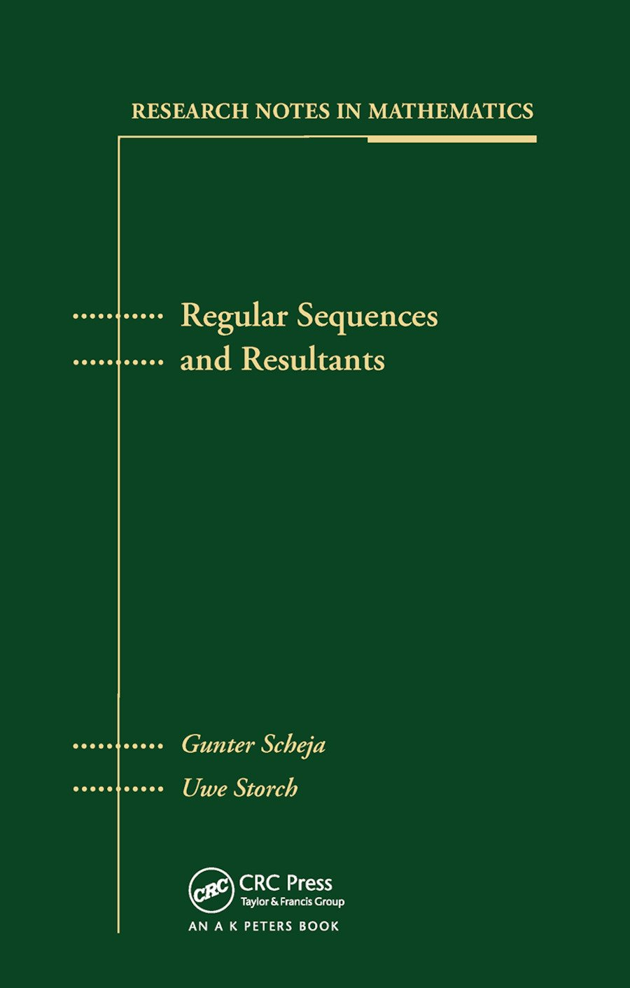 Regular Sequences and Resultants