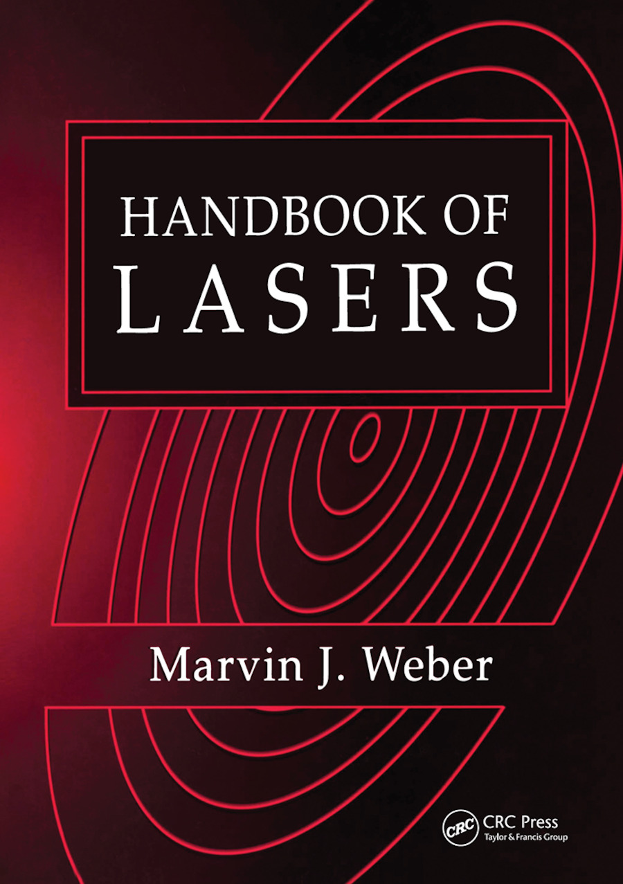 Handbook of Lasers book cover