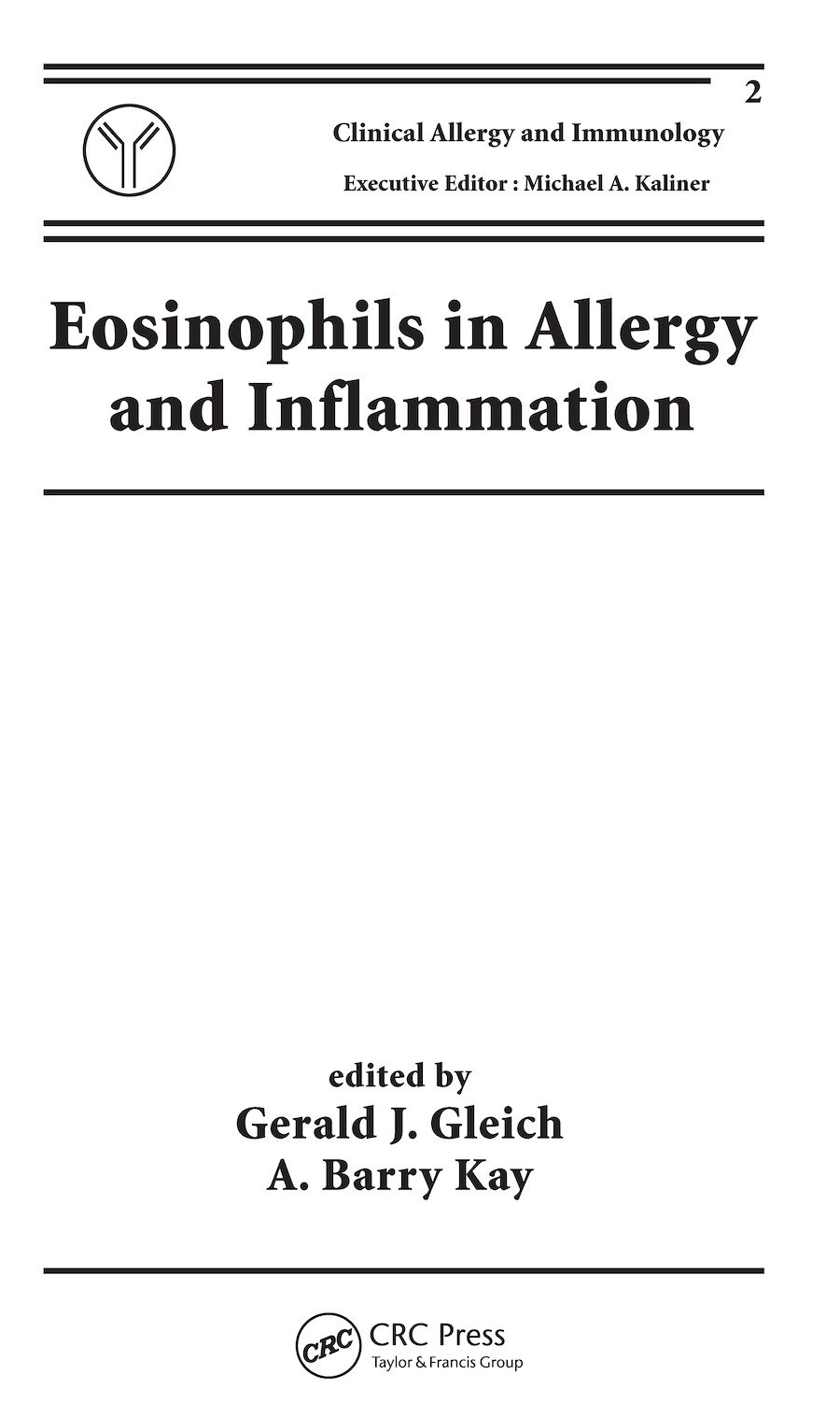 Eosinophils in Allergy and Inflammation