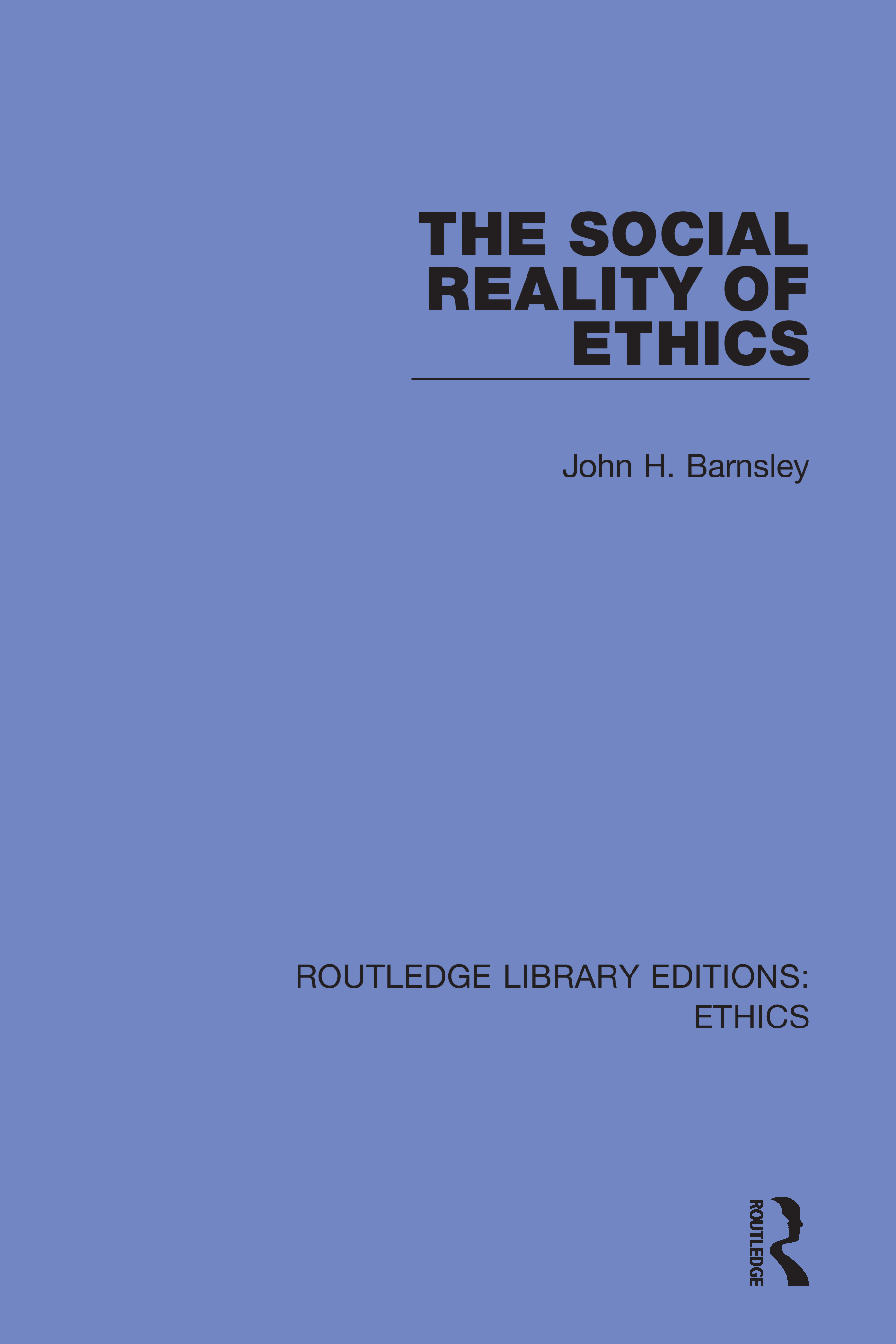 The Social Reality of Ethics