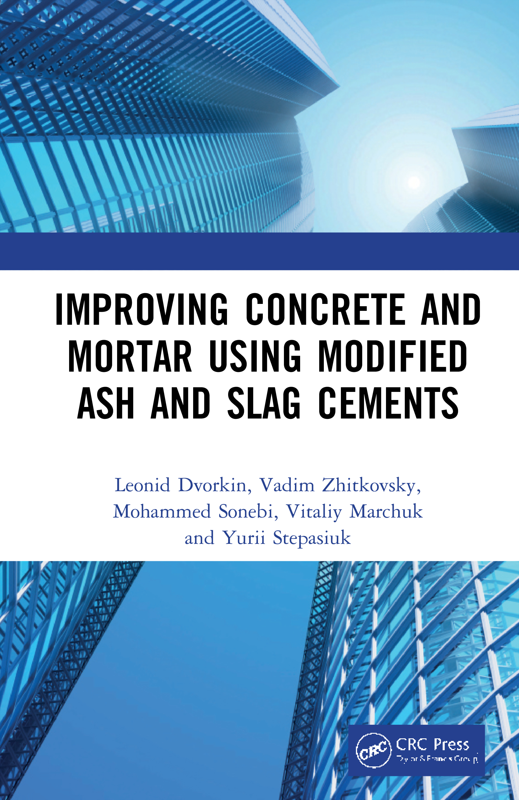 Improving Concrete and Mortar using Modified Ash and Slag Cements book cover