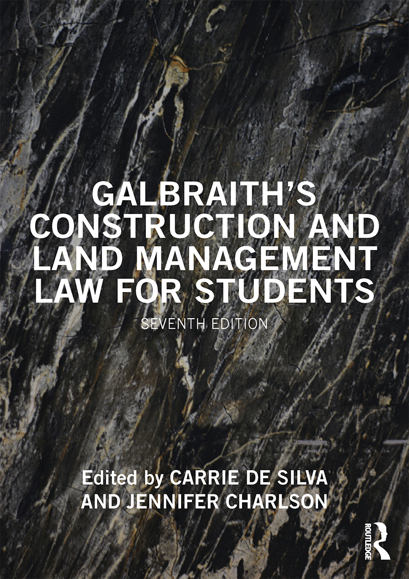 Galbraith's Construction and Land Management Law for Students