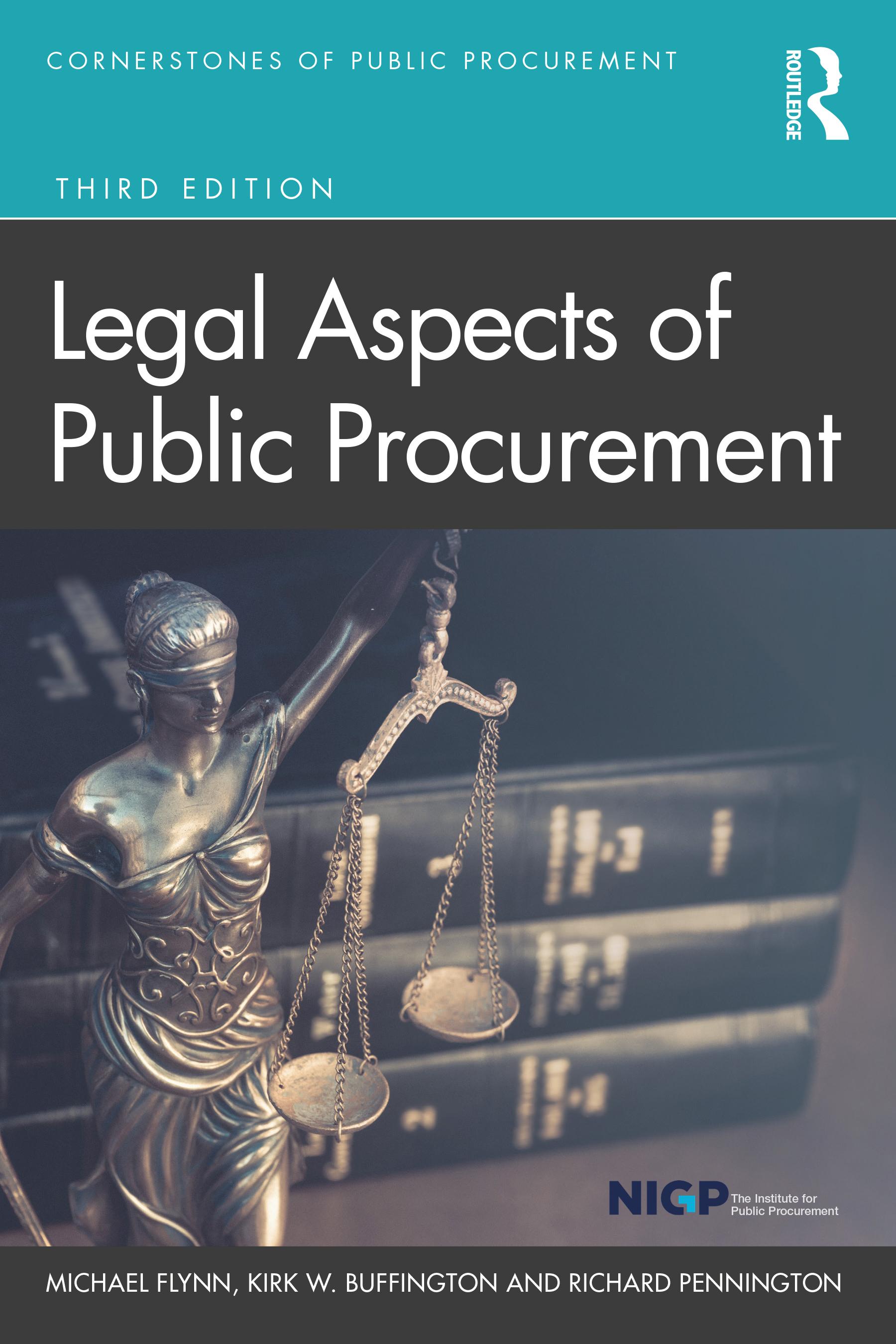Legal Aspects of Public Procurement book cover