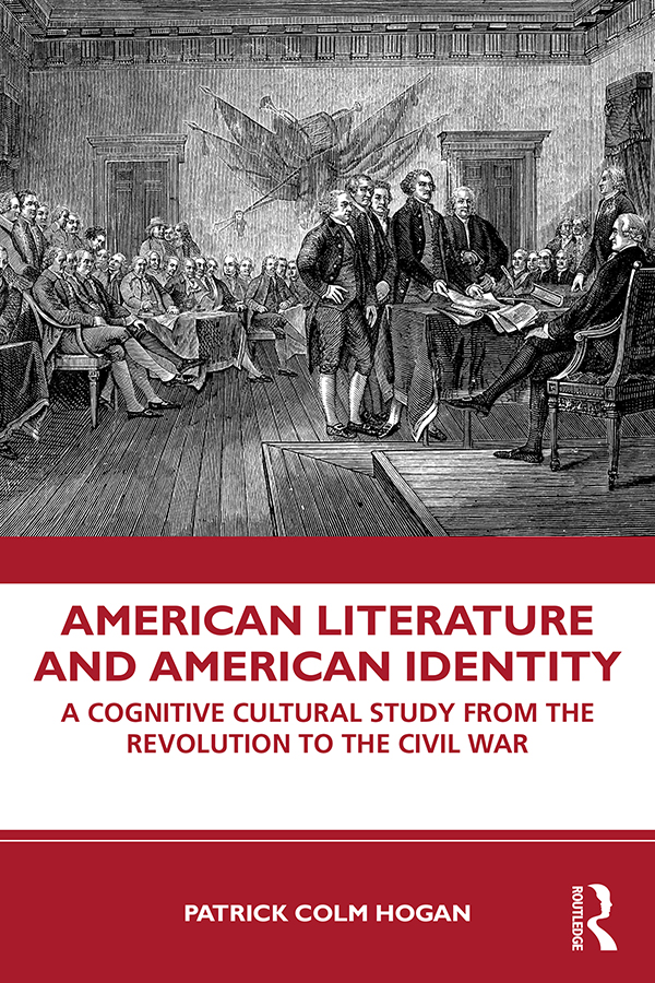 American Literature and American Identity: A Cognitive Cultural Study From the Revolution Through the Civil War book cover