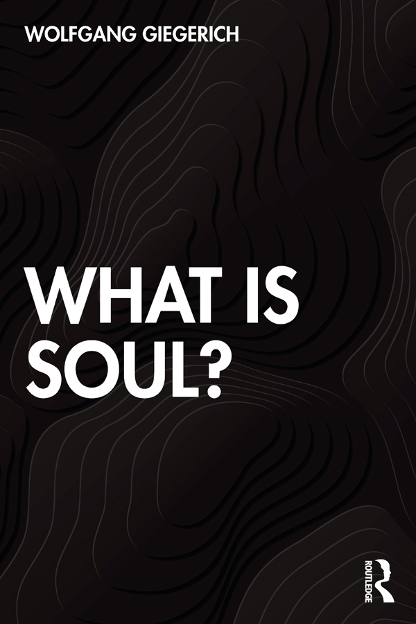 What is Soul? book cover