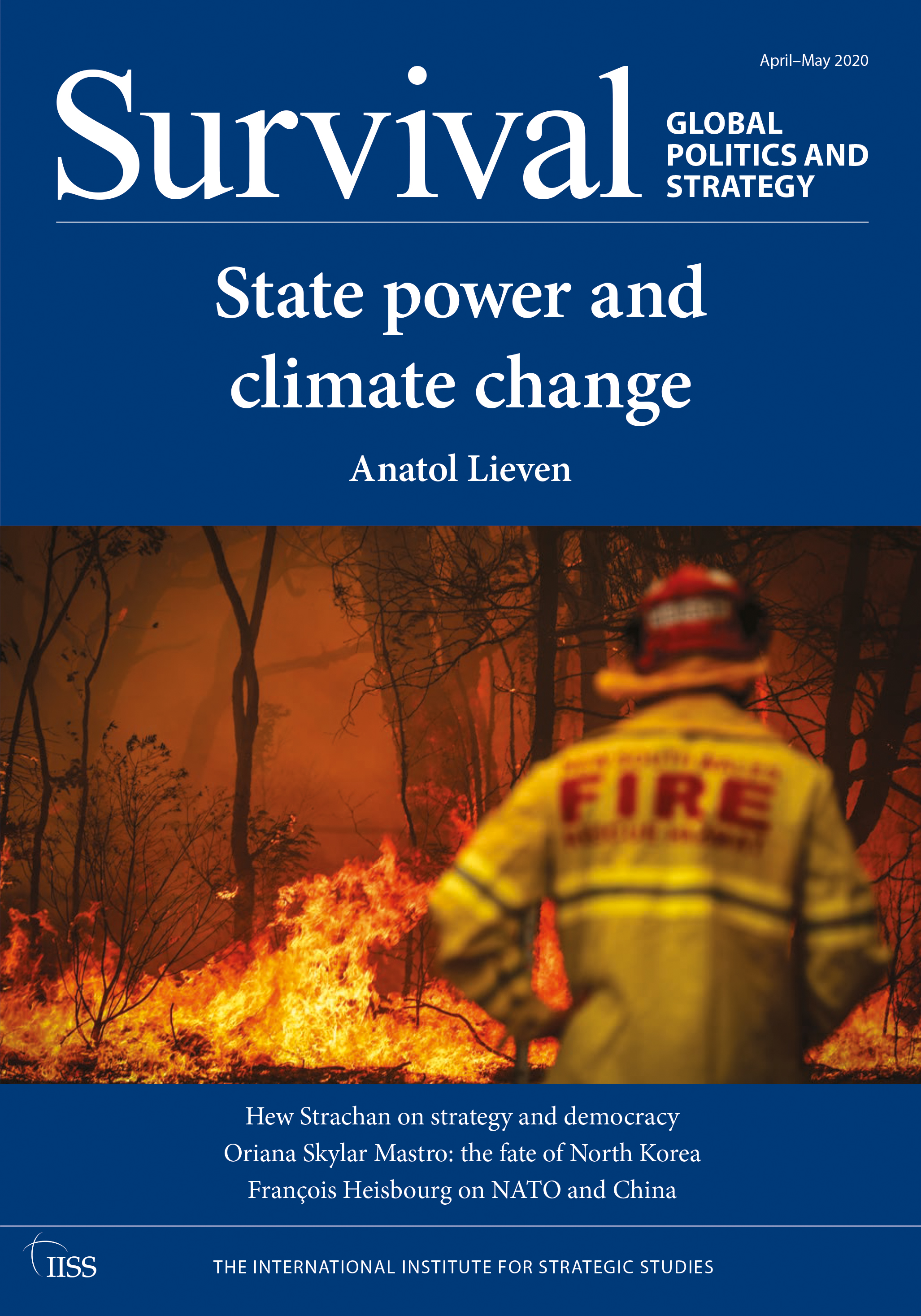 Survival: Global Politics and Strategy (April-May 2020): State Power and Climate Change book cover
