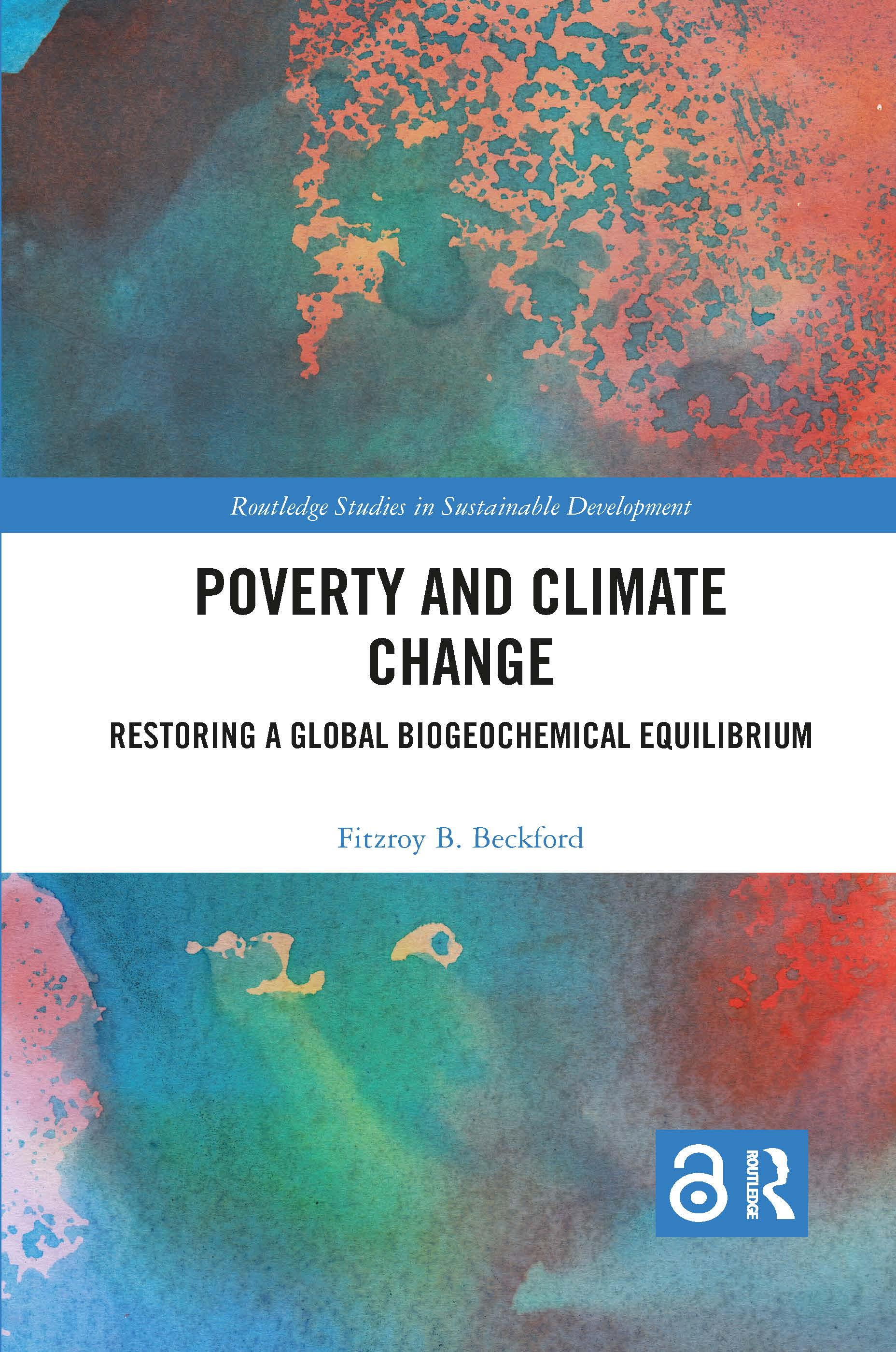 Poverty and Climate Change: Restoring a Global Biogeochemical Equilibrium book cover