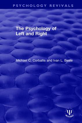The Psychology of Left and Right: 1st Edition (Hardback) book cover