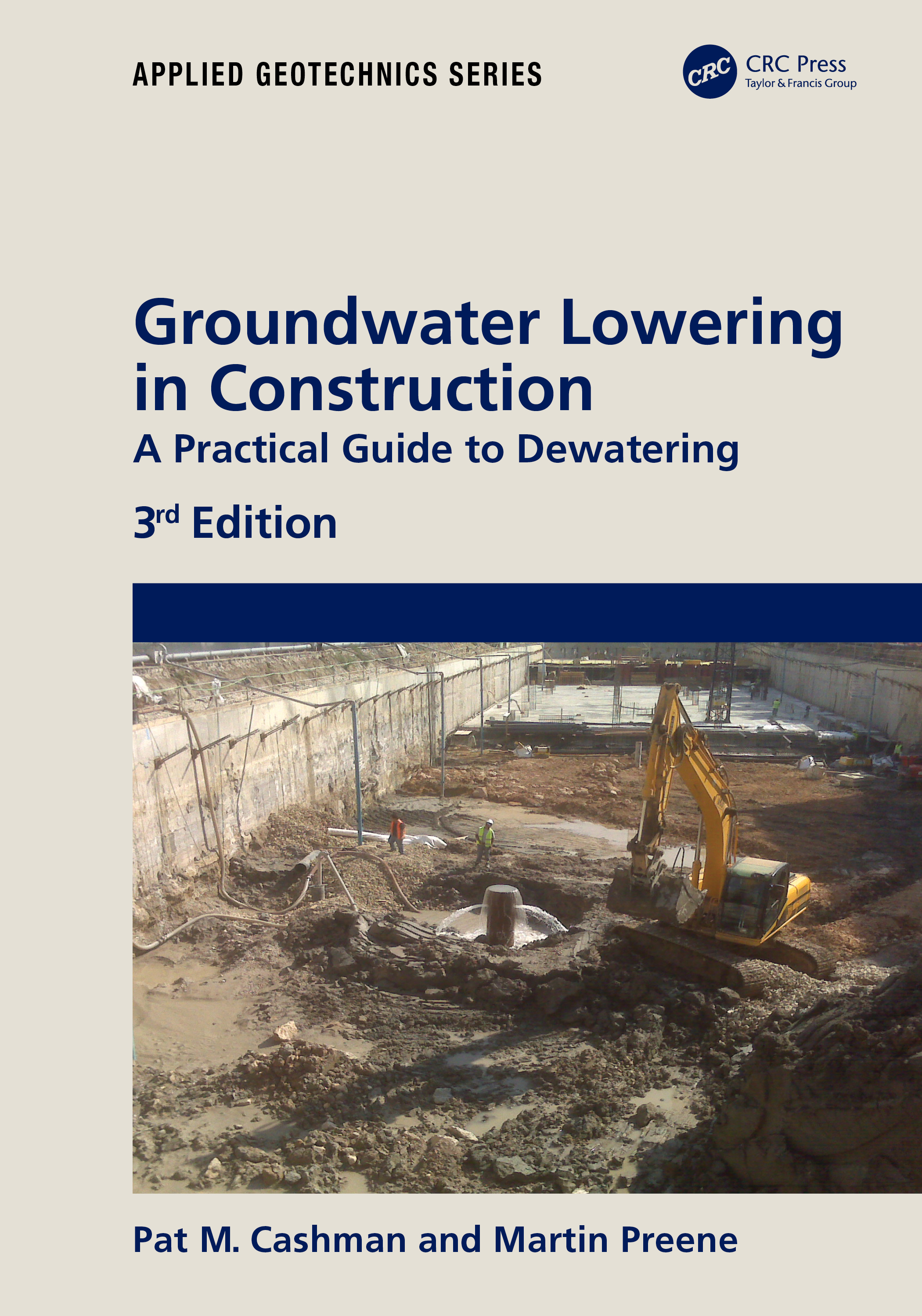 Groundwater Lowering in Construction: A Practical Guide to Dewatering book cover