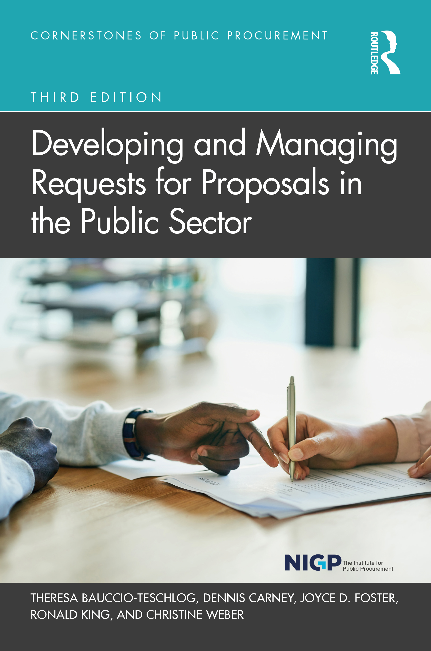 Developing and Managing Requests for Proposals in the Public Sector book cover