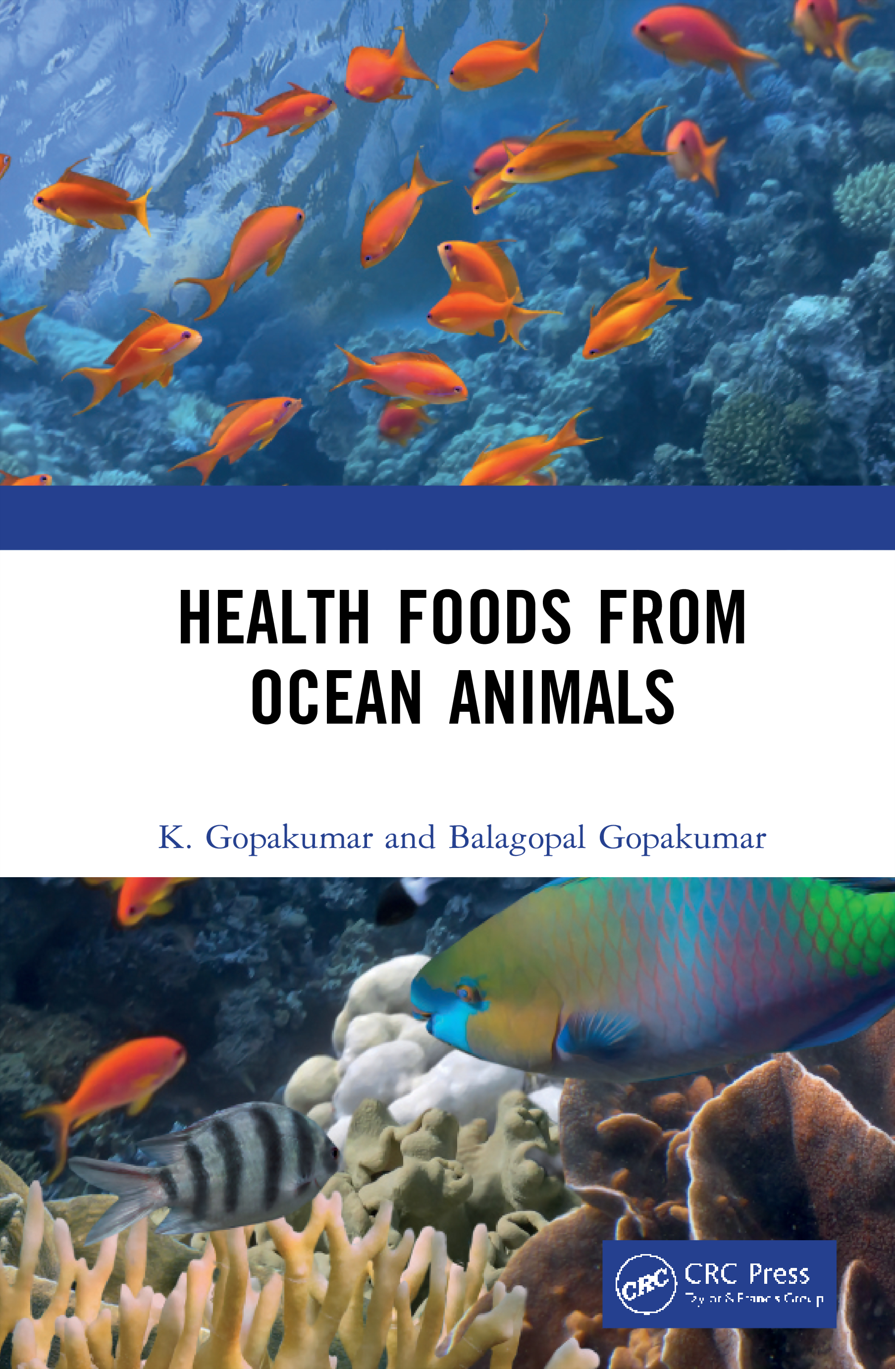 Health Foods from Ocean Animals: 1st Edition (Hardback) book cover