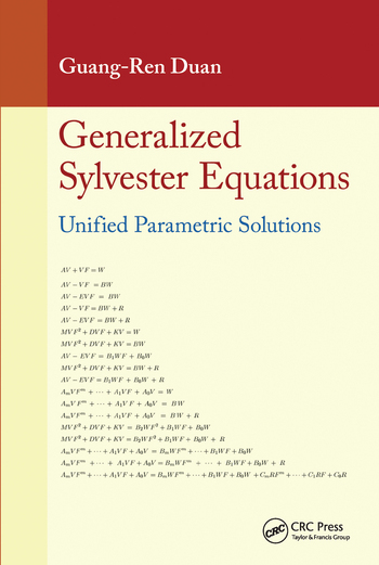 Generalized Sylvester Equations