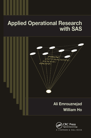 Applied Operational Research with SAS
