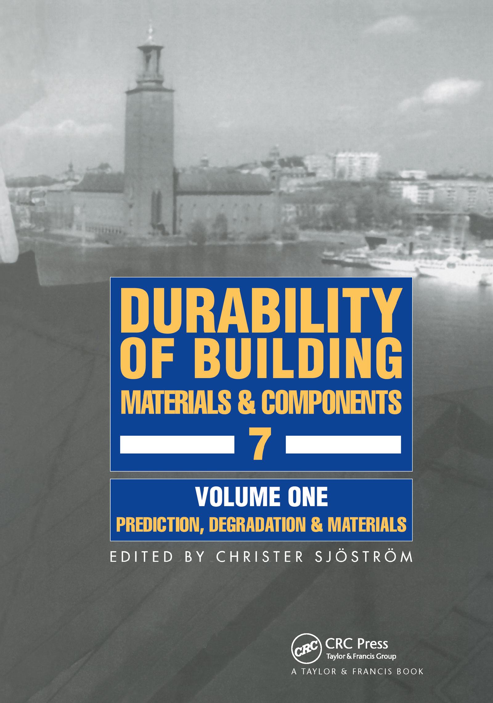 Durability of Building Materials & Components 7 vol.1